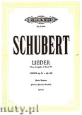 Ok�adka: Schubert Franz, Songs for Voice and Piano, Op. 81 - 108, Vol. 4 (New Edition)