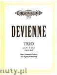 Ok�adka: Devienne Francois, Trio in A minor Op.61 No.3 (Fl�Vln/Cl� Vc/Bsn)