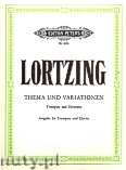 Okładka: Lortzing Albert, Theme and Variations for Trumpet and Orchestra