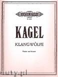 Ok�adka: Kagel Mauricio, Klangw�lfe f�r Violine und Klavier