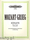 Ok�adka: Mozart Wolfgang Amadeus, Grieg Edward, Sonata in F major for two Pianos, K 533 and K 494