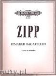 Okładka: Zipp Friedrich, Elmauer Bagatellen für Klavier zu 4 Händen
