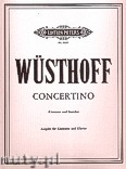 Okładka: Wüsthoff Klaus, Concertino for Clarinet and Strings