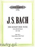 Ok�adka: Bach Johann Sebastian, The Art of Fugue BWV 1080 Vol.1 (Pf)