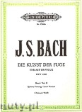 Ok�adka: Bach Johann Sebastian, The Art of Fugue BWV 1080 Vol.2 (Pf)