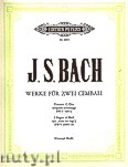 Ok�adka: Bach Johann Sebastian, Selected Works for 2 Harpsichord