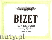 Ok�adka: Bizet Georges, Jeux d'enfants Op.22 complete (Pf/4h)