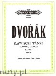 Okładka: Dvořák Antonin, Slavonic Dances for Piano 4 Hands, Op. 46, Vol. 1