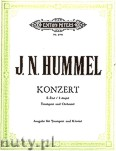 Okładka: Hummel Johann Nepomuk, Concerto in E major for Trumpet and Orchestra