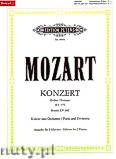 Okładka: Mozart Wolfgang Amadeus, Concerto No. 5 in D major K 175, Rondo in D major K 382 for Piano and Orchestra
