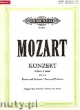 Ok�adka: Mozart Wolfgang Amadeus, Concerto in C major No. 13, K 415 for Piano and Orchestra