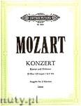 Okładka: Mozart Wolfgang Amadeus, Konzert D-Dur KV 451