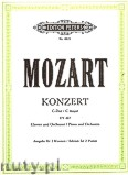 Ok�adka: Mozart Wolfgang Amadeus, Concerto in C major No. 21, KV 467 for Piano and Orchestra (Edition for 2 Pianos)