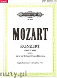 Okładka: Mozart Wolfgang Amadeus, Concerto in C minor No.24, K 491 for Piano and Orchestra