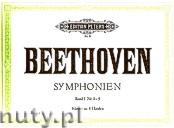 Okładka: Beethoven Ludwig van, Symphonies Vol.1 No 1-5 (Pf/4h)