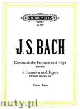 Okładka: Bach Johann Sebastian, Fantasias & Fugues (Pf) BWV 894, 904, 906, 944