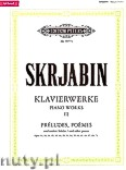 Ok�adka: Skriabin Aleksander, Selected Piano Works, Pr�ludes, Poemes and other pieces, Vol. 3