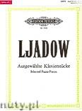 Okładka: Liadow Anatoly, Selected Piano Pieces