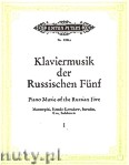Ok�adka: , Piano music of the Russian Five, Vol. 1