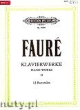 Okładka: Fauré Gabriel, Piano Works, Vol. 2