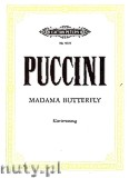Okładka: Puccini Giacomo, Madame Butterfly, Japanese Tragedie in three Acts