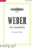 Okładka: Weber Carl Maria von, Der Freischütz, Romantische Oper in drei Auzügen