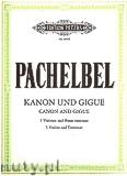 Okładka: Pachelbel Johann, Kanon und Gigue