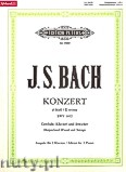 Okładka: Bach Johann Sebastian, Concerto No.1 in d minor BWV 1052 (2Pf/4h)