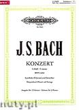 Ok�adka: Bach Johann Sebastian, Keyboard Concerto in f minor BWV 1056 (2Pf/4h)