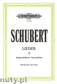 Ok�adka: Schubert Franz, Songs for Voice and Piano, Vol. 2 (Low Voice)