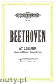 Ok�adka: Beethoven Ludwig van, 67 Songs for Voice and Piano