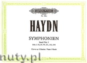 Okładka: Haydn Franz Joseph, Symphonies, Hob. I: 93, 94, 99, 101, 103, 104 for Piano 4 Hands, Vol. 1