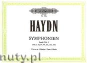 Ok�adka: Haydn Franz Joseph, Symphonies, Hob. I: 93, 94, 99, 101, 103, 104 for Piano 4 Hands, Vol. 1