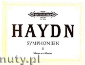 Okładka: Haydn Franz Joseph, 12 Symphonies for Piano - 4 Hands, Vol. 2