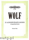 Okładka: Wolf Hugo, 35 Selected Songs for Baritone (Bass) and Piano