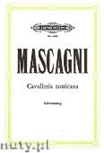 Okładka: Mascagni Pietro, Cavalleria Rusticana