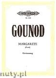 Okładka: Gounod Charles, Margarete (Faust)
