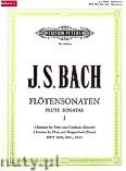Okładka: Bach Johann Sebastian, Flute Sonatas Complete in 2 volumes Vol.1 BWV 1030, 1031, 1032 (Fl—Pf/Harpsichord)