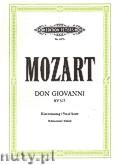 Ok�adka: Mozart Wolfgang Amadeus, Don Giovanni (Voice�Pf)