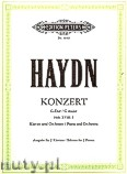 Ok�adka: Haydn Franz Joseph, Concerto in G major, Hob. XVIII: 4 for Piano and Orchestra