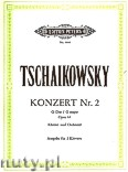 Ok�adka: Czajkowski Piotr, Concerto No. 2 in G major for Piano and Orchestra, Op. 44
