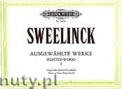 Ok�adka: Sweelinck Jan Pieterszoon, Selected Works for Organ, Piano or Harpsichord, Vol. 1