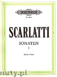 Ok�adka: Scarlatti Domenico, Sonatas for Piano, Vol. 1