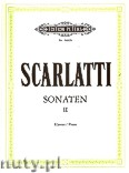 Ok�adka: Scarlatti Domenico, Sonatas for Piano, Vol. 2