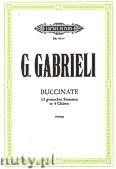 Okładka: Gabrieli Giovanni, Buccinate für 19 gemischte Stimmen in 4 Chören