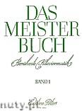 Okładka: Różni, Book of the Masters for Piano, Vol. 1