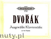 Okładka: Dvořák Antonin, 12 Selected Pieces for Piano - 4 Hands