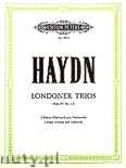 Okładka: Haydn Franz Joseph, London Trios, Three Trios for 2 Flutes or Violins and Violoncello, Hob. IV: No. 1 - 3