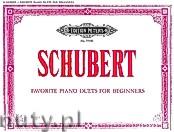 Okładka: Schubert Franz, Favourite Piano Duets for Beginners