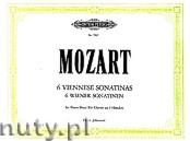 Ok�adka: Mozart Wolfgang Amadeus, 6 Viennese Sonatinas for Piano Duet